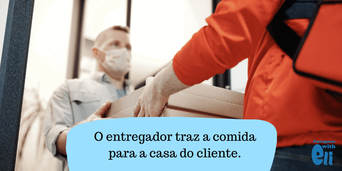 the verb trazer in Portuguese