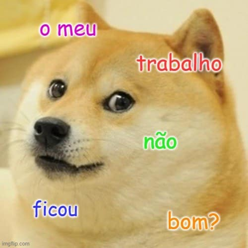 an example of ficar in Portuguese