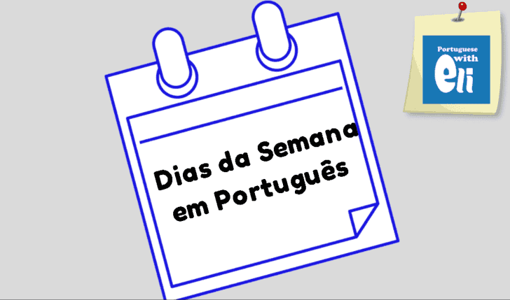 days of the week in portuguese