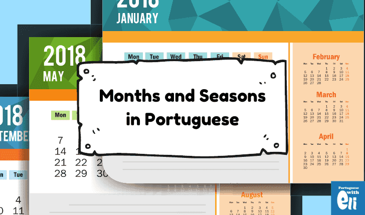 months in portuguese main piece