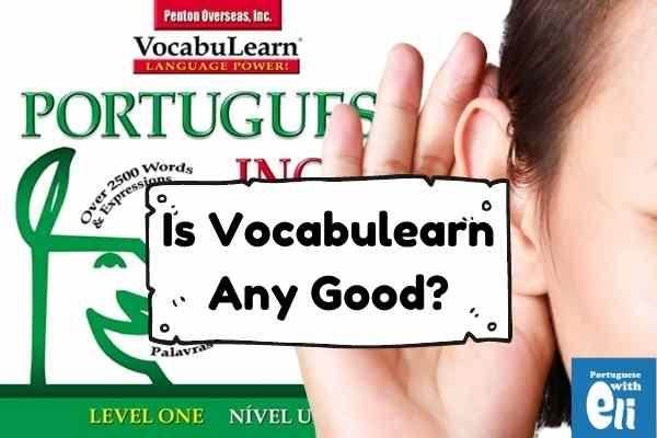 a vocabulearn portuguese review
