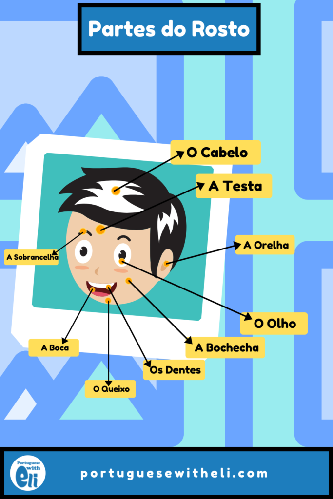 head in portuguese