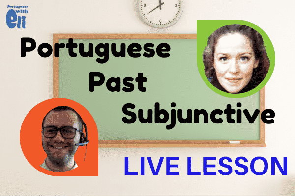 live lesson on the past subjunctive with Katrina