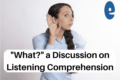 Improve your Portuguese Listening Comprehension Simply