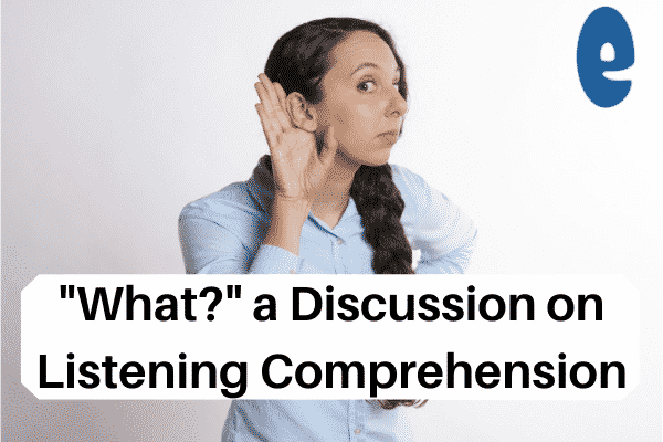 a discussion on portuguese listening comprehension